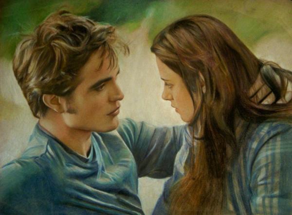 Robert Pattinson, Kristen Stewart por Lizapoly